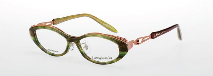 若々しい印象のメガネ