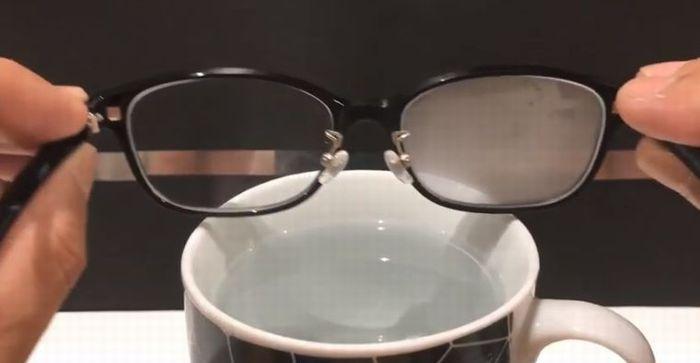 メガネの曇り止め