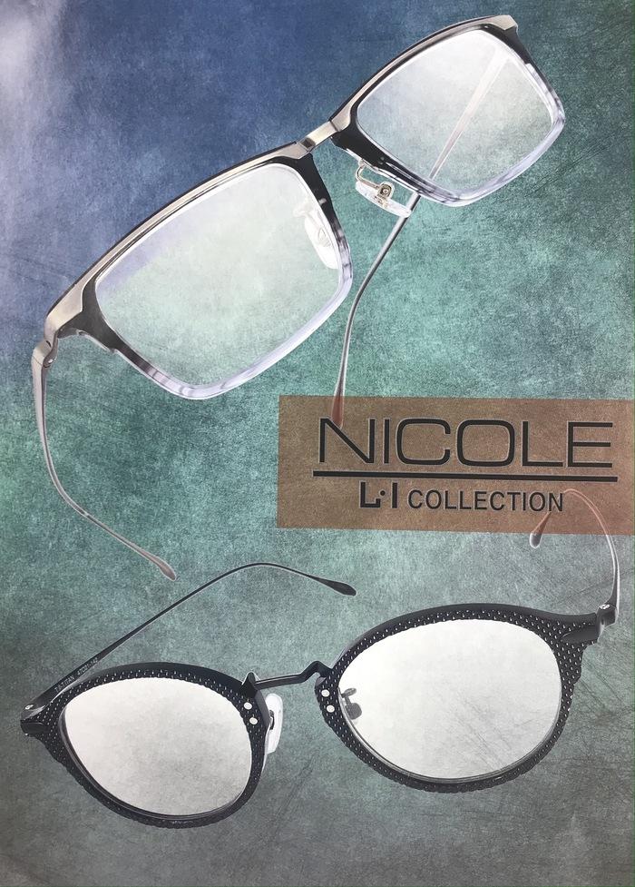ニコル NICOLE メガネ