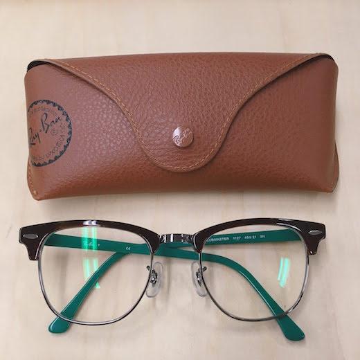 rayban_clubmaster01 レイバン メガネ  クラブマスター 遠近 遠近両用に見えないメガネ