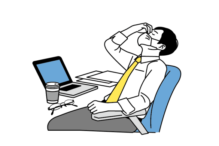 働き盛りの40代には「疲れ目サポートメガネ」が必要です。