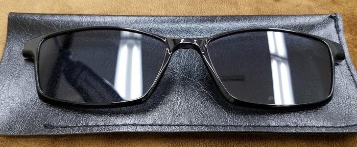 クリップサングラス 便利なメガネ