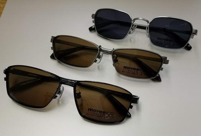 クリップサングラス 便利なメガネ サングラス movee