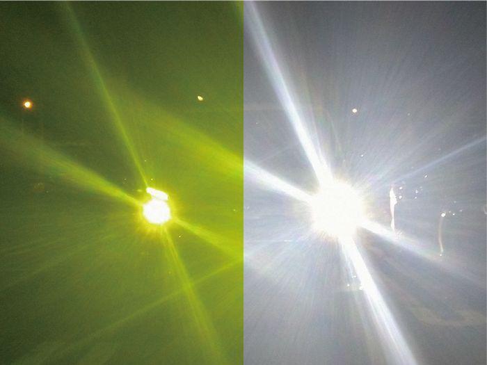 ナイトアシスト475 ヘッドライト比較