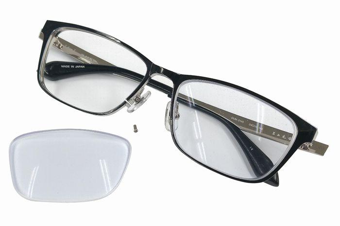 レンズが外れた レンズが取れた メガネが壊れた