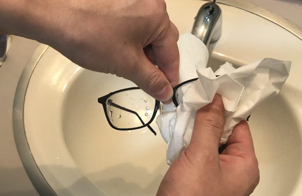 メガネのお手入れ