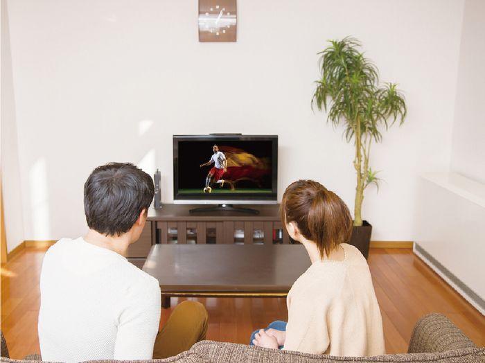 オリンピックのテレビ観戦 テレビで応援