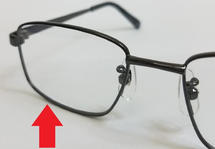 メガネパーツ 遠近両用 メガネ選び リム