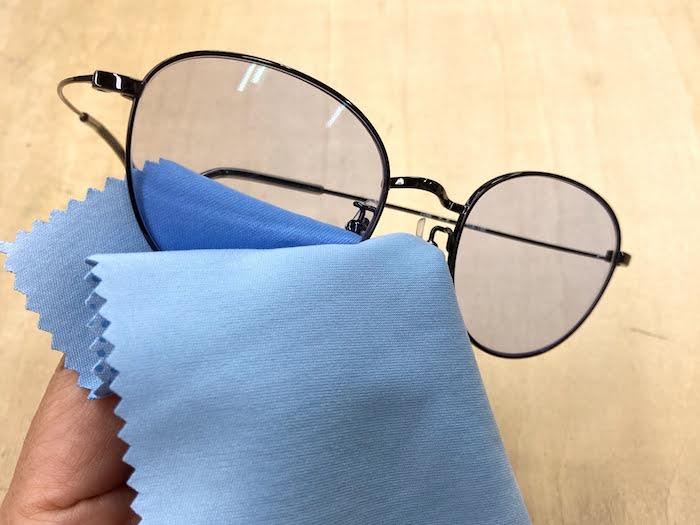 マクロクリーン すべらない メガネ拭き