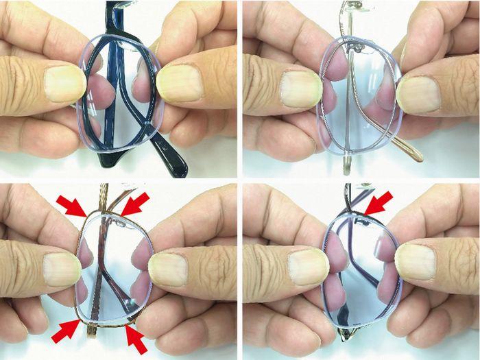 フレーム交換 メガネ