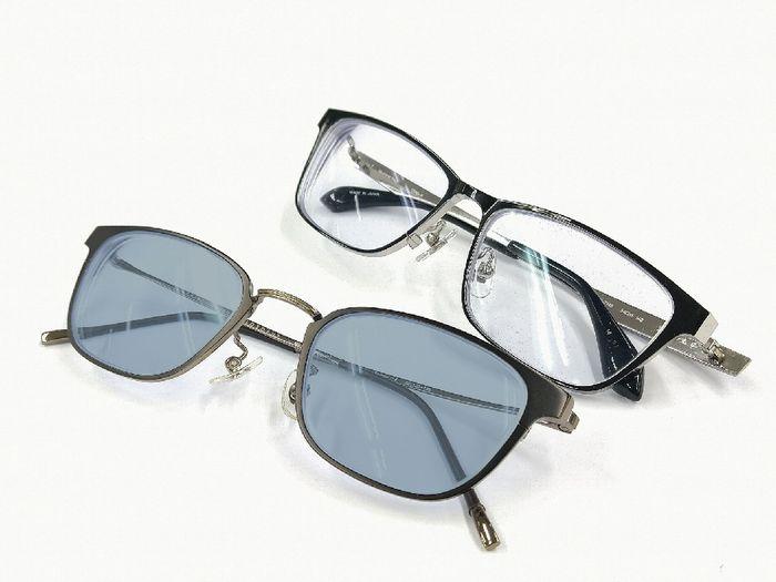 メガネと度付サングラス